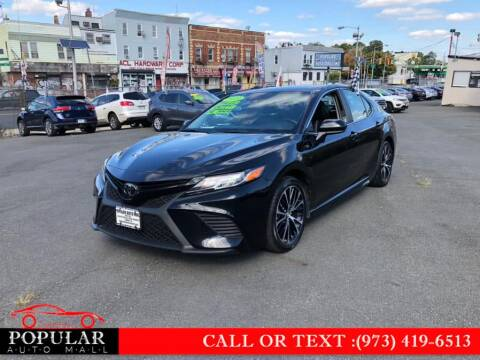 2019 Toyota Camry for sale at Popular Auto Mall Inc in Newark NJ