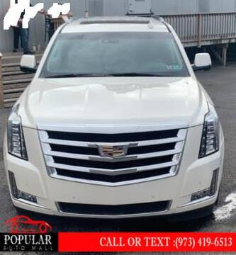 2015 Cadillac Escalade for sale at Popular Auto Mall Inc in Newark NJ