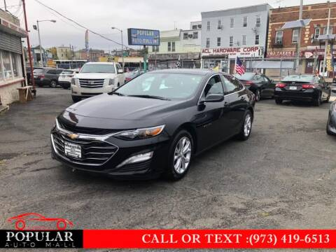 2019 Chevrolet Malibu for sale at Popular Auto Mall Inc in Newark NJ