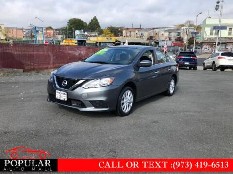 2018 Nissan Sentra for sale at Popular Auto Mall Inc in Newark NJ