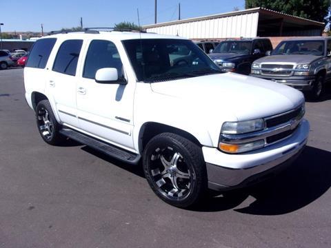 2002 Chevrolet Tahoe for sale in Washington, UT