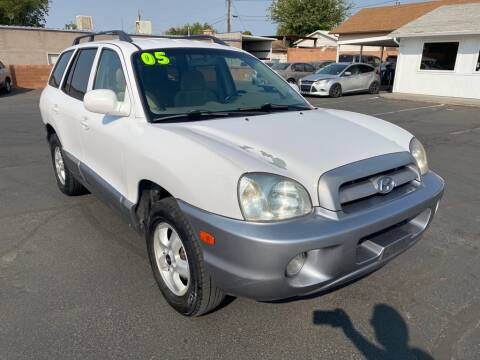 2005 Hyundai Santa Fe for sale at Robert Judd Auto Sales in Washington UT