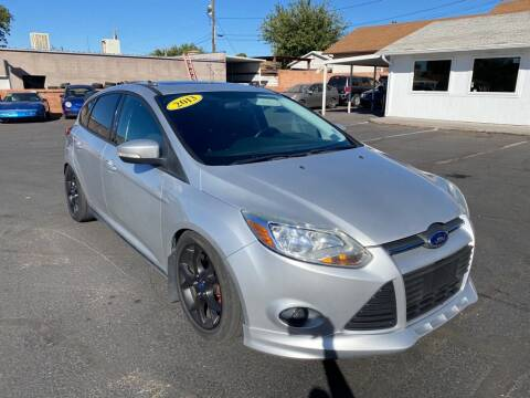 2013 Ford Focus for sale at Robert Judd Auto Sales in Washington UT