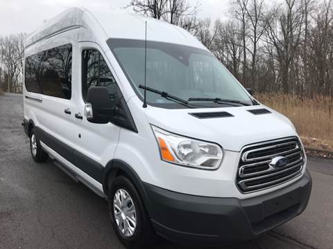 2017 Ford Transit Wagon for sale at HERSHEY'S AUTO INC. in Monroe NY