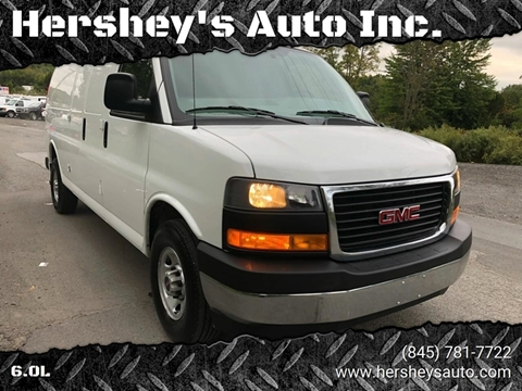 2018 GMC Savana Cargo for sale at HERSHEY'S AUTO INC. in Monroe NY