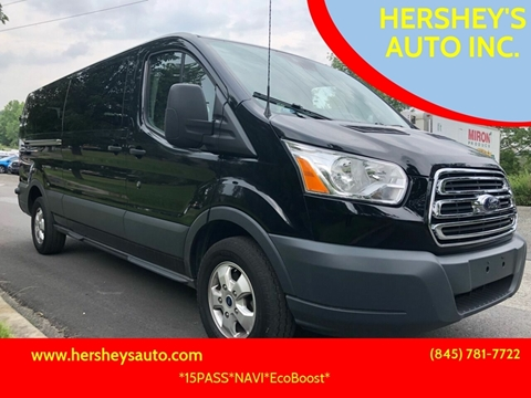 2018 Ford Transit Passenger for sale at HERSHEY'S AUTO INC. in Monroe NY