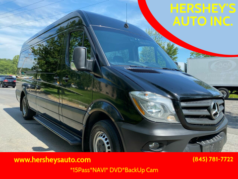 2016 Mercedes-Benz Sprinter for sale at HERSHEY'S AUTO INC. in Monroe NY