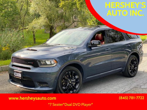 2020 Dodge Durango for sale at HERSHEY'S AUTO INC. in Monroe NY