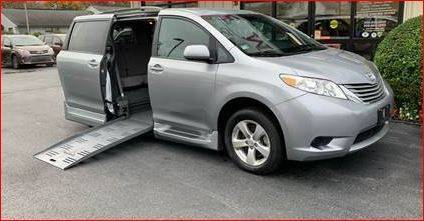 2014 Toyota Sienna LE Mobility 7-Passenger for sale at Seewald Cars in Brooklyn NY