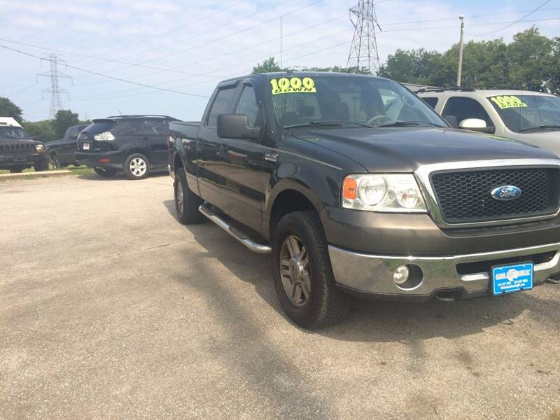 2008 Ford F-150 4x4 XLT 4dr SuperCrew Styleside 5.5 ft. SB - Lockbourne OH