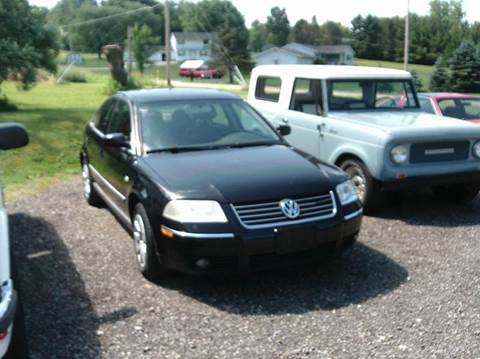 2003 Volkswagen Passat for sale at Whitmore Motors in Ashland OH