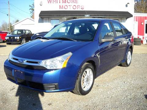 2008 Ford Focus for sale at Whitmore Motors in Ashland OH