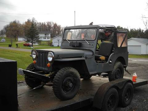 1947 Jeep Willys Passenger for sale at Whitmore Motors in Ashland OH
