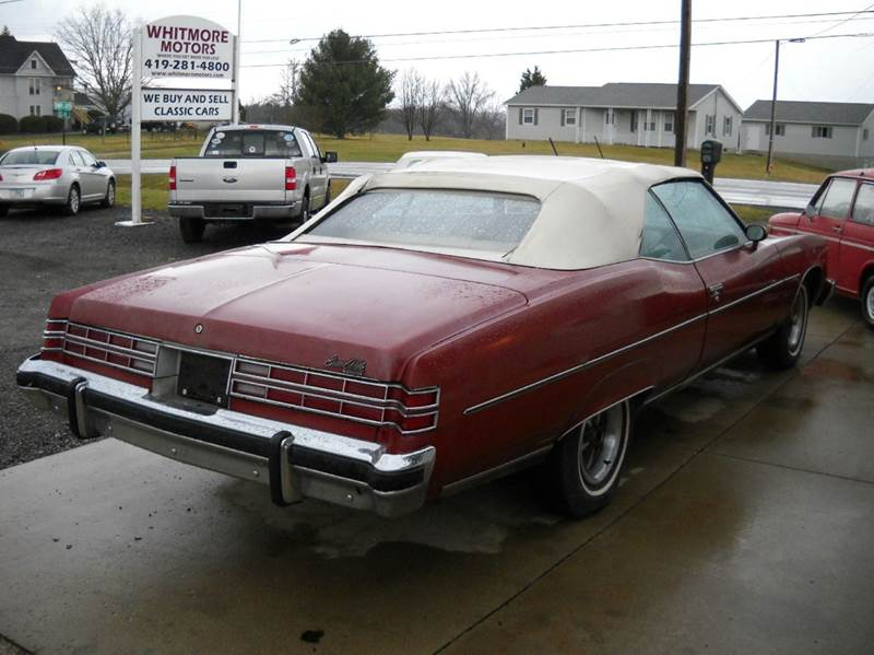 1975 Pontiac Grand Ville for sale at Whitmore Motors in Ashland OH