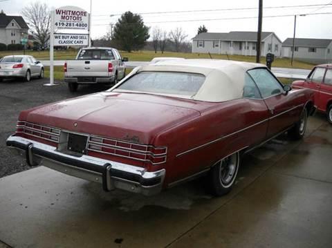 Pontiac Used Cars Classic Cars For Sale Ashland Whitmore Motors
