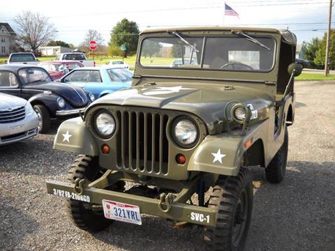 1955 Jeep CJ-5 for sale in Ashland, OH