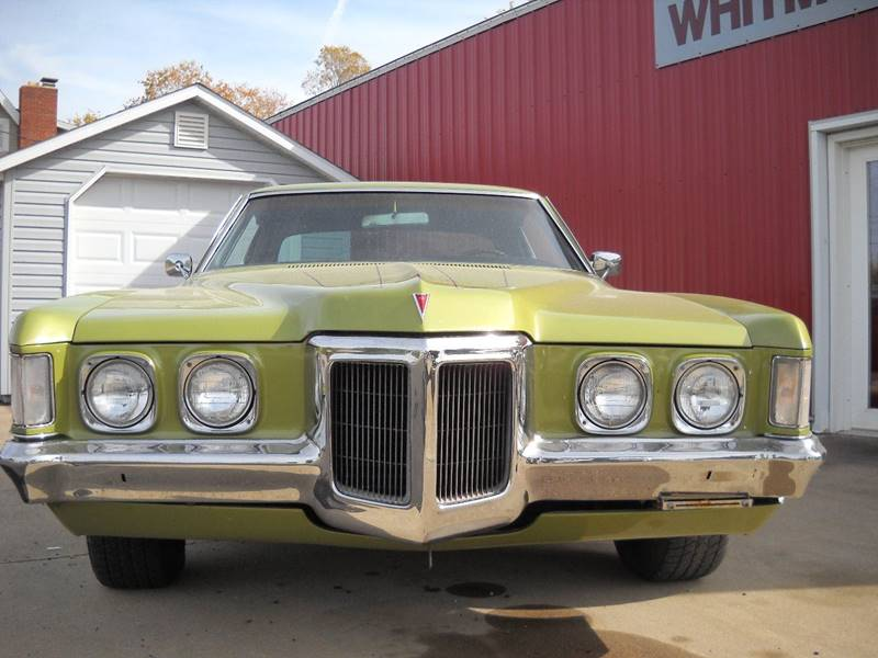 1970 Pontiac Grand Prix for sale at Whitmore Motors in Ashland OH