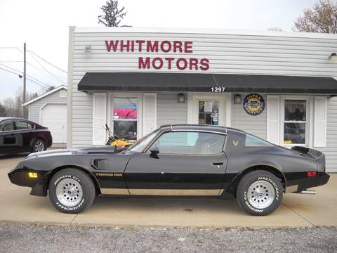 1979 Pontiac Firebird Trans Am for sale in Ashland, OH