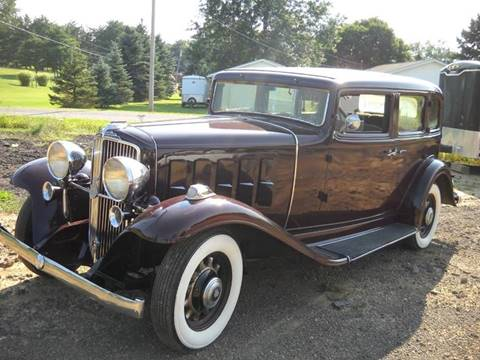 1933 Nash Ambassador for sale at Whitmore Motors in Ashland OH