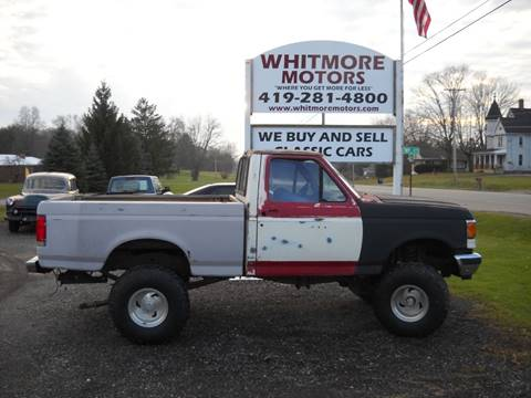1990 Ford F-150 for sale in Ashland, OH