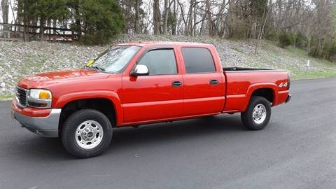 2002 GMC Sierra 1500HD