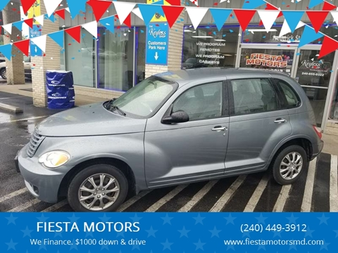 2008 Chrysler PT Cruiser for sale at FIESTA MOTORS in Hagerstown MD