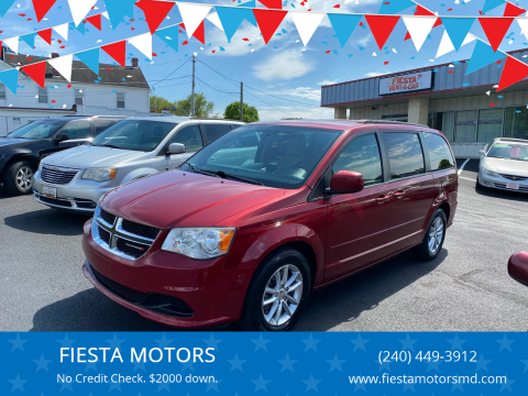 2014 Dodge Grand Caravan for sale at FIESTA MOTORS in Hagerstown MD