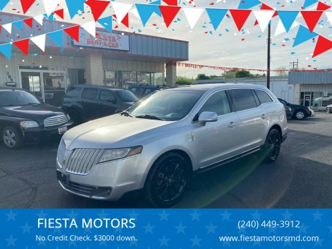 2010 Lincoln MKT for sale at FIESTA MOTORS in Hagerstown MD