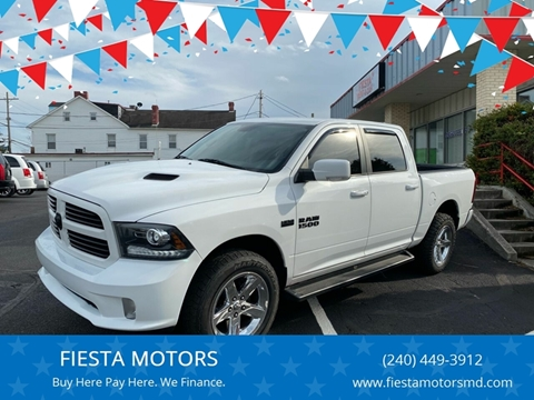 2013 RAM Ram Pickup 1500 for sale at FIESTA MOTORS in Hagerstown MD