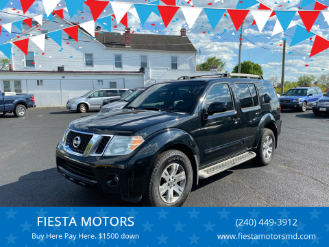2009 Nissan Pathfinder for sale at FIESTA MOTORS in Hagerstown MD