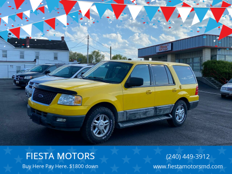 2006 Ford Expedition for sale at FIESTA MOTORS in Hagerstown MD