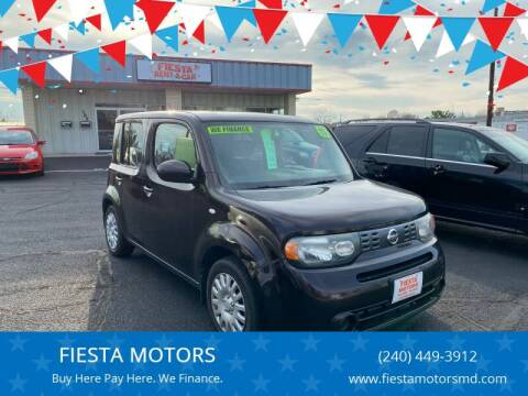 2011 Nissan cube for sale at FIESTA MOTORS in Hagerstown MD