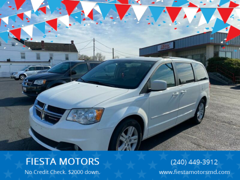 2013 Dodge Grand Caravan for sale at FIESTA MOTORS in Hagerstown MD