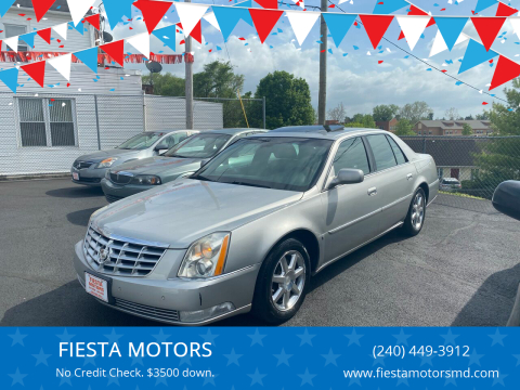 2007 Cadillac DTS for sale at FIESTA MOTORS in Hagerstown MD