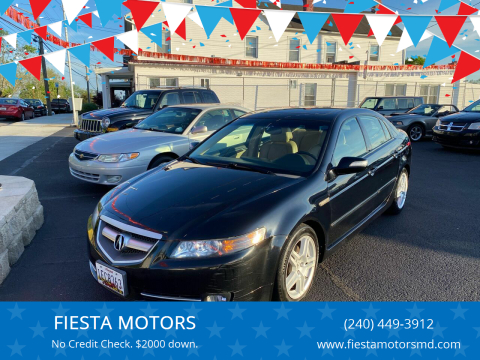 2007 Acura TL for sale at FIESTA MOTORS in Hagerstown MD