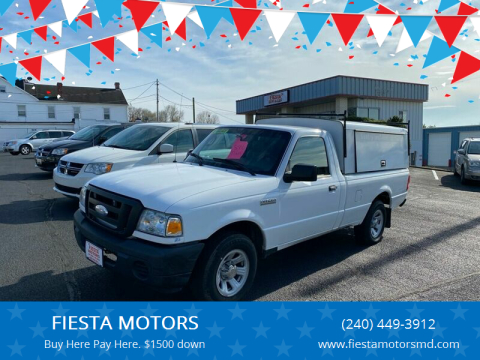 2008 Ford Ranger for sale at FIESTA MOTORS in Hagerstown MD
