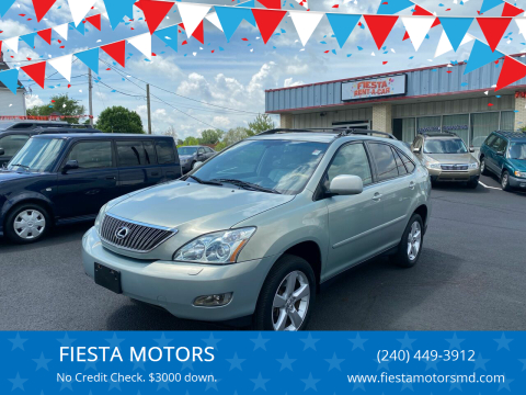 2006 Lexus RX 330 for sale at FIESTA MOTORS in Hagerstown MD