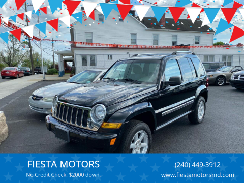 2007 Jeep Liberty for sale at FIESTA MOTORS in Hagerstown MD