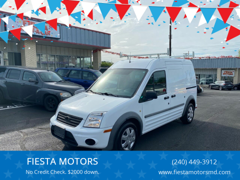2012 Ford Transit Connect for sale at FIESTA MOTORS in Hagerstown MD