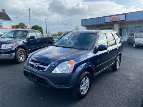 2004 Honda CR-V for sale at FIESTA MOTORS in Hagerstown MD