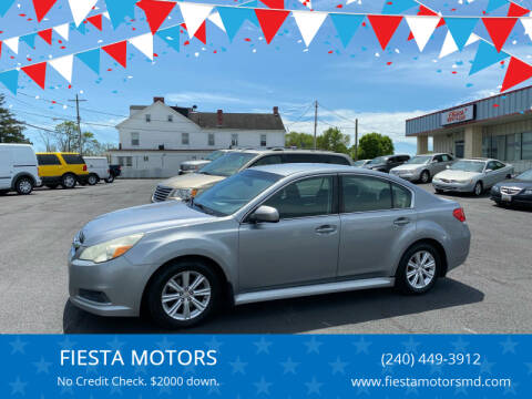 2011 Subaru Legacy for sale at FIESTA MOTORS in Hagerstown MD