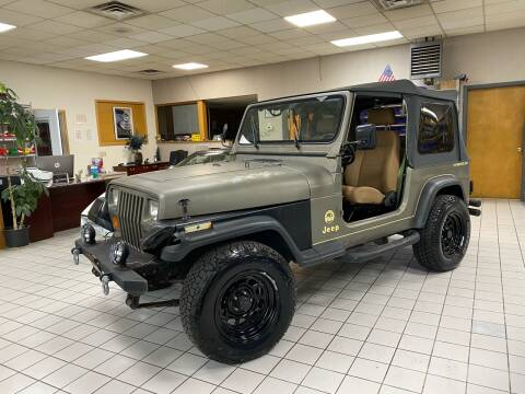 1991 Jeep Wrangler for sale at FIESTA MOTORS in Hagerstown MD