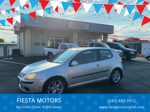 2007 Volkswagen Rabbit for sale at FIESTA MOTORS in Hagerstown MD