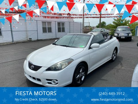 2008 Toyota Camry Solara for sale at FIESTA MOTORS in Hagerstown MD