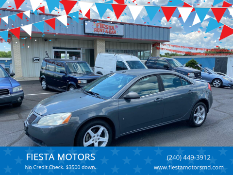 2009 Pontiac G6 for sale at FIESTA MOTORS in Hagerstown MD