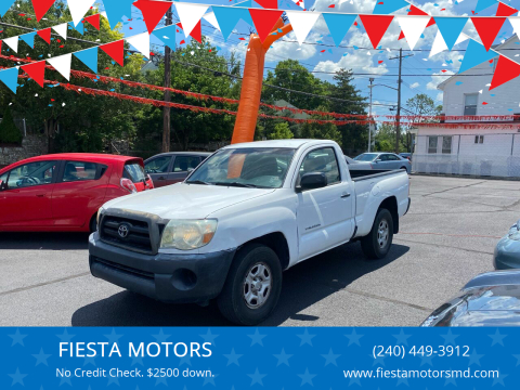 2006 Toyota Tacoma for sale at FIESTA MOTORS in Hagerstown MD