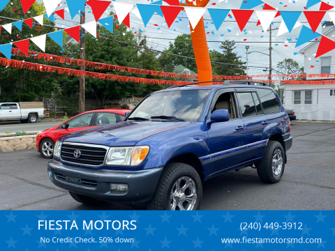 1999 Toyota Land Cruiser for sale at FIESTA MOTORS in Hagerstown MD
