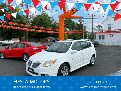 2006 Pontiac Vibe for sale at FIESTA MOTORS in Hagerstown MD