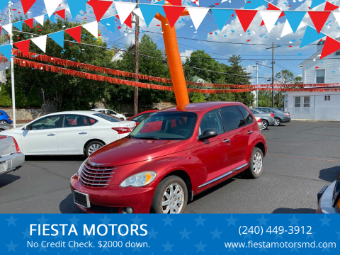 2010 Chrysler PT Cruiser for sale at FIESTA MOTORS in Hagerstown MD