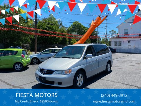 2004 Honda Odyssey for sale at FIESTA MOTORS in Hagerstown MD
